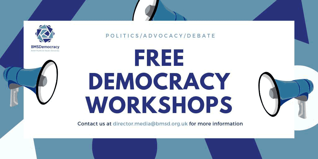 Democracy Workshop Graphic