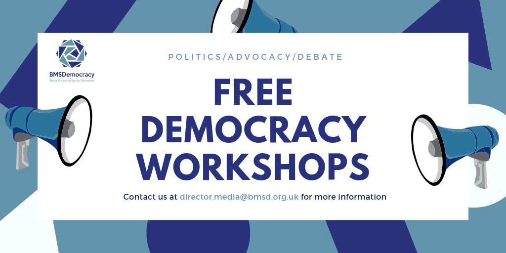 Democracy Workshop Graphic